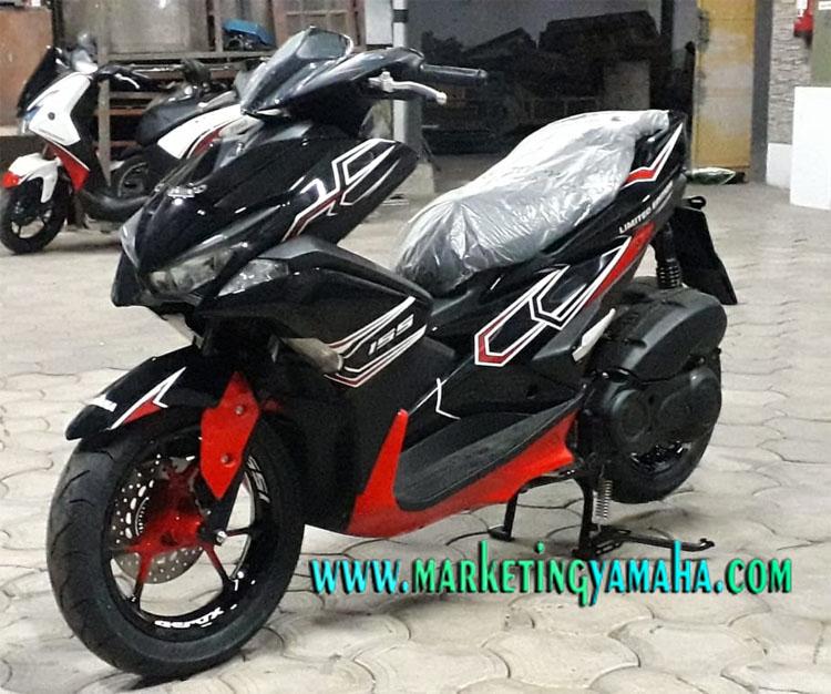 Modifikasi Yamaha Aerox Custom 155vva