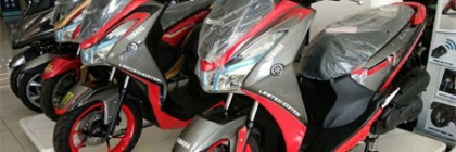 Modifikasi Yamaha Lexi Custom