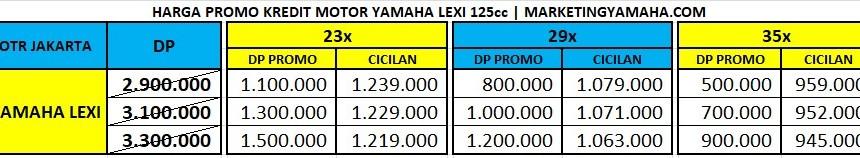 Promo Yamaha Lexi - Harga Kredit Motor Yamaha