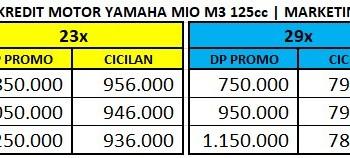 Promo Yamaha Mio M3 125 - Harga Kredit Motor Yamaha
