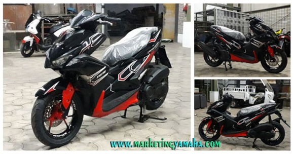 Yamaha Aerox Custom 155 VVA