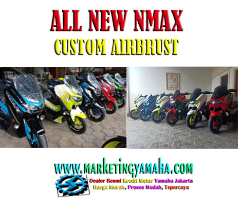 ALL NEW NMAX 155 CUSTOM