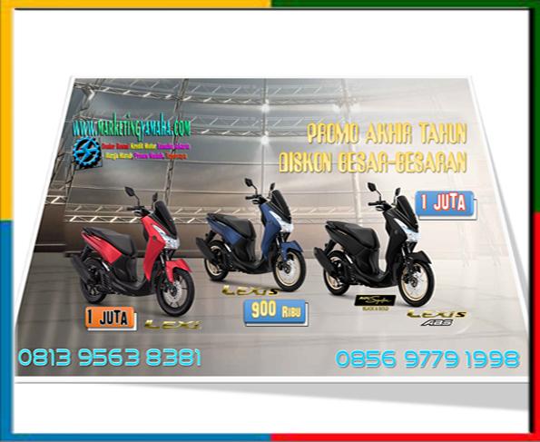 Promo Yamaha Lexi 125, Lexi S, Lexi S-Abs