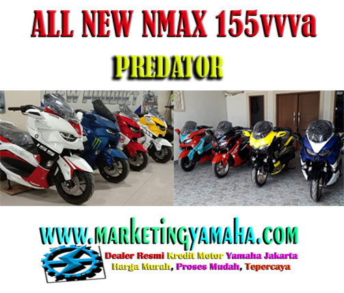 All New NMax 155 Predator