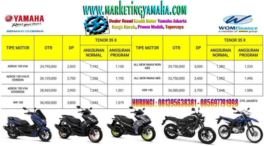 Promo Yamaha Potong Cicilan