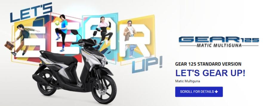 Yamaha Gear 125 Standar
