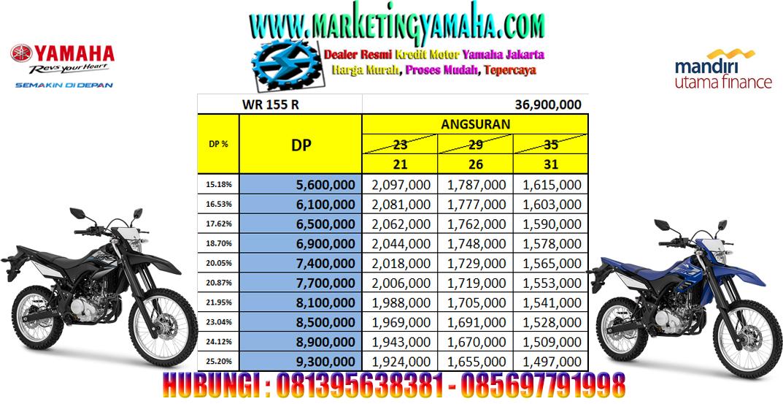 Yamaha Wr155 R - Potong Tenor 2-4 Bulan