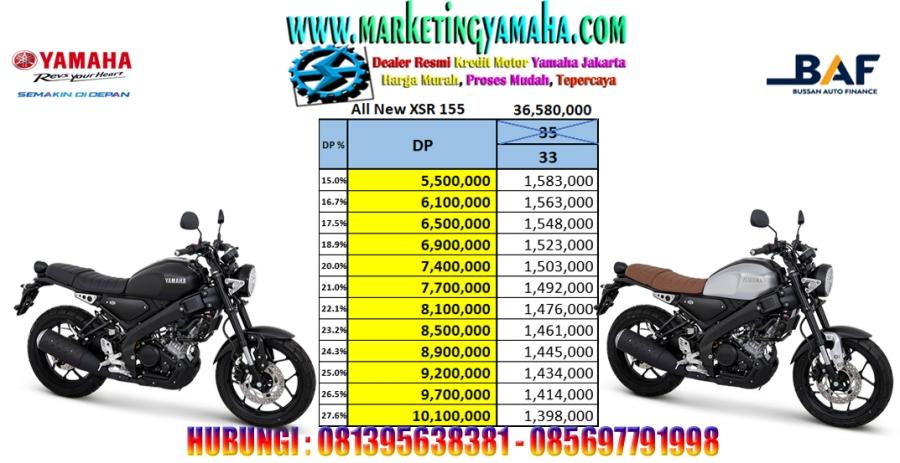 Yamaha Xsr 155 - Potong Tenor 2 Bulan